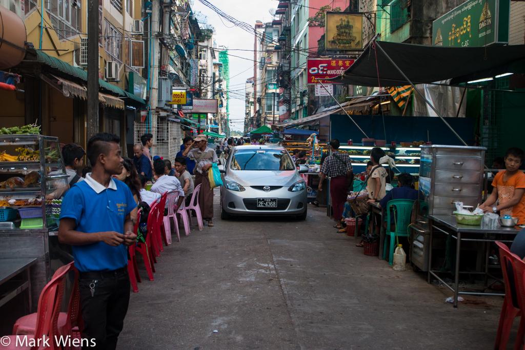 19th Street, Yangon Chinatown, Myanmar