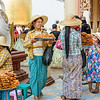 Selling Treats Outside the Temple