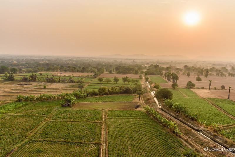 Sunrise Across the Fields