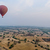 Temples from a Hot Air Balloon
