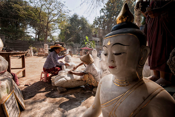 The Stone Carvers of Mandalay