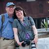 Shep and Jennifer<br /> @  Shwe Yaunghwe Kyaung Monastery, Nyaungshwe