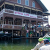Lunch stop on Inle Lake.