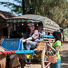Jennifer, pony cart to Inwa