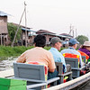 Photographing the floating villages on Inle Lake