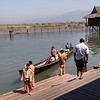 Arriving in style, Shwe Inn Tha Floating Resort