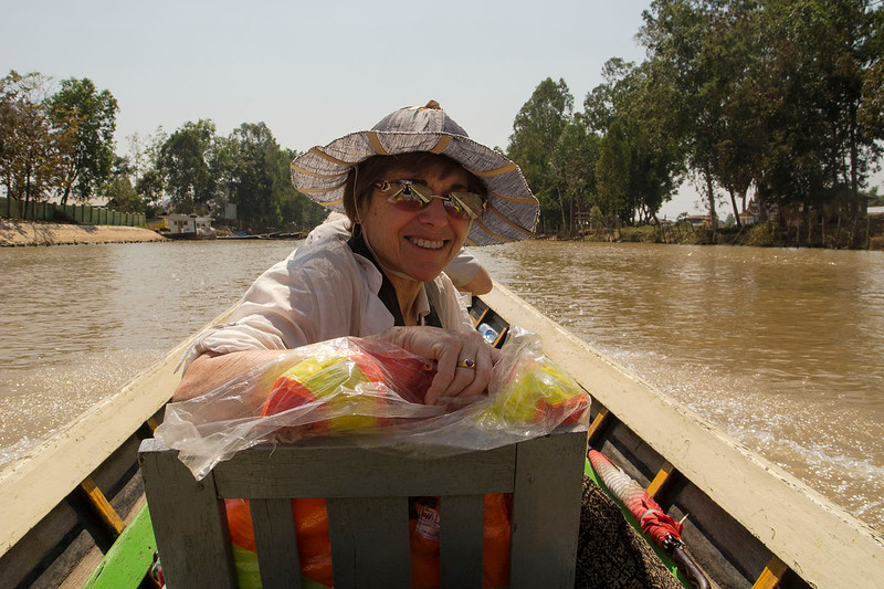 Laurie, on the way to Inle Lake