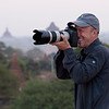 Karl, sunrise shoot at Bagan