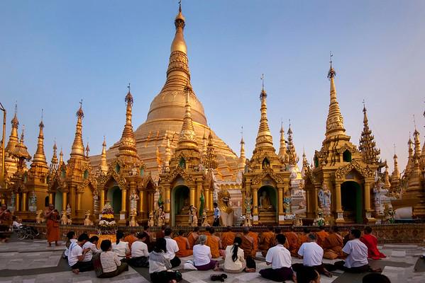 Land of the Golden Pagodas
