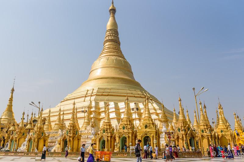 2,500 Year Old Shwedagon Pagoda
