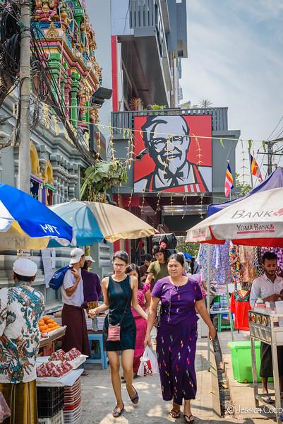 The Colonel Arrives in Myanmar