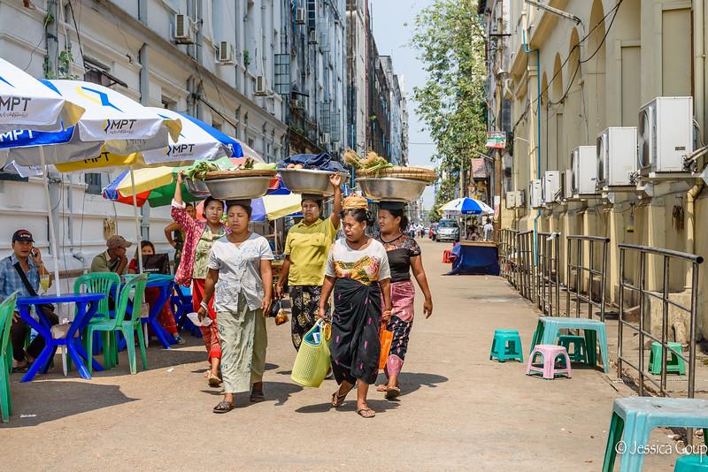 Ladies of Yangon