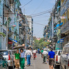 Walking the Streets of Yangon