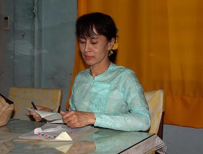 """The """"Lady""""Aung San Suu Kyi"""