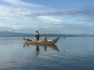 Myanmar Field Trip 1 - Indawgyi Lake and scouting trips