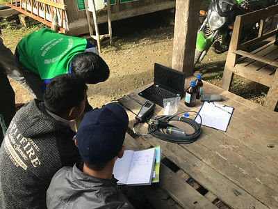 Calibrating the stream sensors