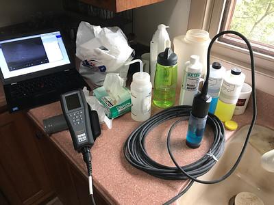 My stream analysis equipment