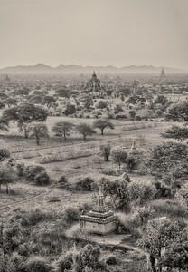 Mist in Bagan.
