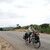 A 130km day from Mount Popa to Thazi through   rolling countryside