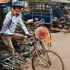 A Hpa-An rickshaw driver