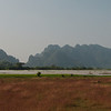 Riding through the countryside around Hpa-An