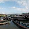 Parking lot of the fantastic weekly market at Nampan Village