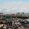 More and more boats crowding the Nampan market