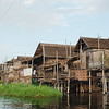 Floating villages at Inle Lake