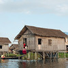 Floating village at Inle Lake