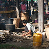 Morning at the Nampan market
