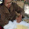 Shan tofu vendor