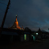 Kalaw's main pagoda by night