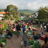 The streets of Kalaw were overflowing with vendors on market day