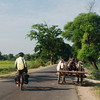 We passed dozens of ox carts on the ride to Bagan