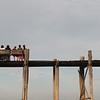 U-Bein Bridge, the longest teak bridge in the world, Amarapura