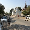 at the base of Mandalay Hill