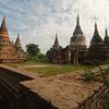 Cluster of pagodas at Inwa