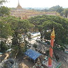 Between Bagan and Mandalay, we took a detour and stopped in Monywa for several hours.  There are two fascinating sites there, the Thanboddhay Pagoda (above) and Bodhi Tataung.