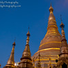 The 2,500 year old Shwedagon Pagoda in Yangon, the most sacred Buddhist site in Myanmar.