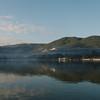 Morning at Pindaya Lake