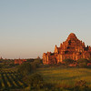 Dhammayangyi Paya, largest of Bagan's temples, at dusk