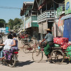 The dusty streets of Nyaung-U