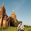 Exploring the temples of Bagan