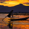 Harry Purcell Inle sunset 800