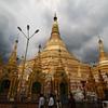 The 2500 year-old Shwedagon Pagoda
