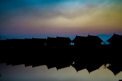 Inle Lake Silhouette