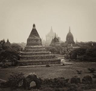 Temples of Bagan #7. 16 X 16
