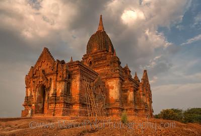 """Temples of Bagan. #3. 15"""" x 10""""."""