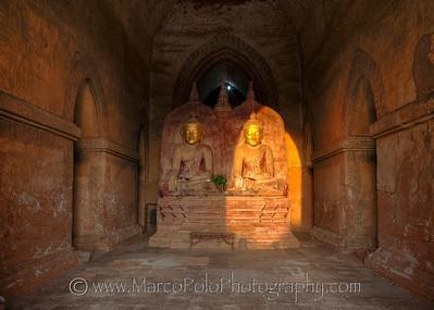 "Buddhas of Bagan #6. 15"" x 11"""