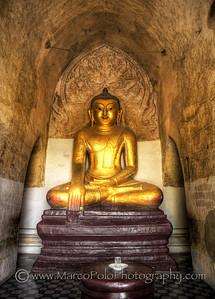 "Buddhas of Bagan #1. 15"" x 21"""